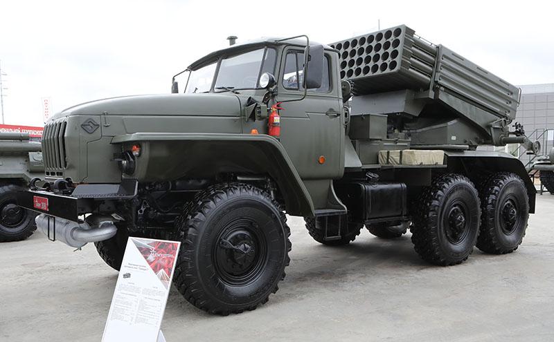 Новая 122-мм РСЗО «Торнадо-Г».