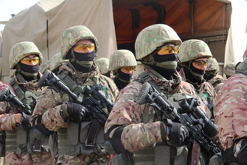 Силы ОДКБ на страже.