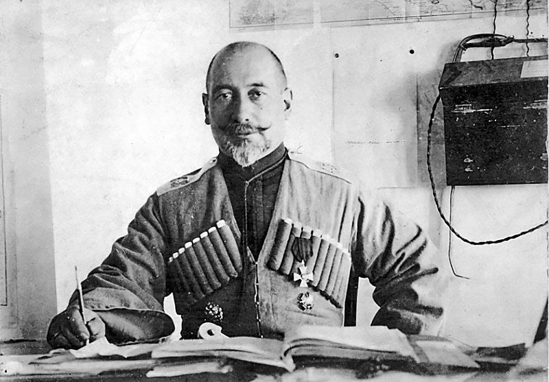 Генерал от кавалерии Николай Николаевич Баратов.