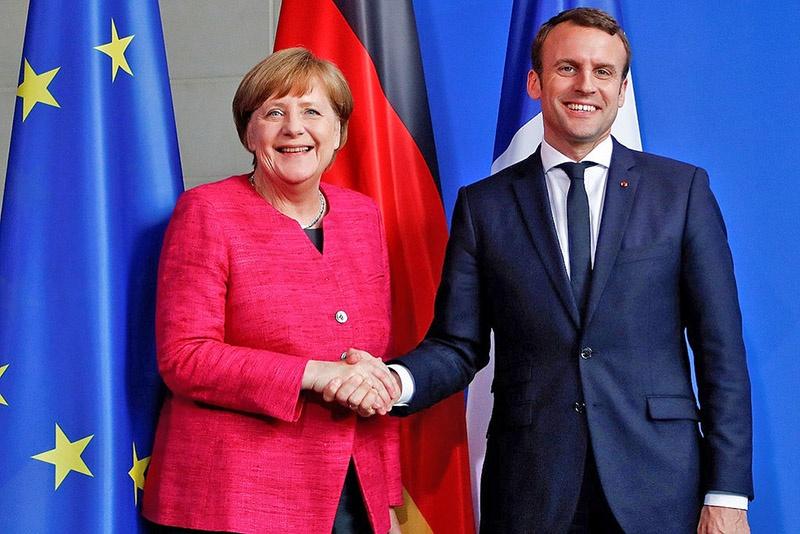 Федеративное государство под франко-немецким контролем - план Макрона-Меркель .
