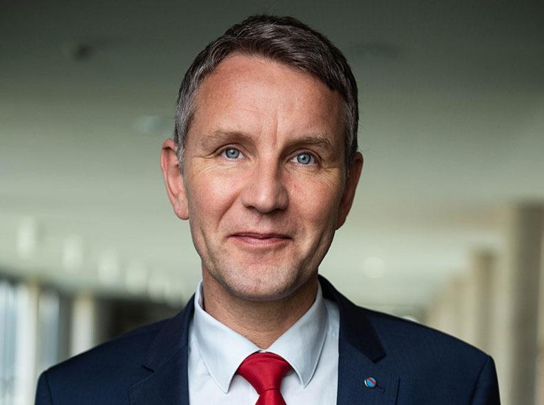 Руководитель фракции АдГ в ландтаге Тюрингии Бьёрн Хёкке.
