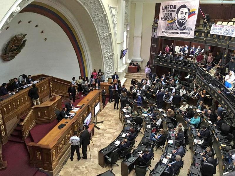 В Венесуэле оппозиция победила на выборах в Национальную ассамблею.