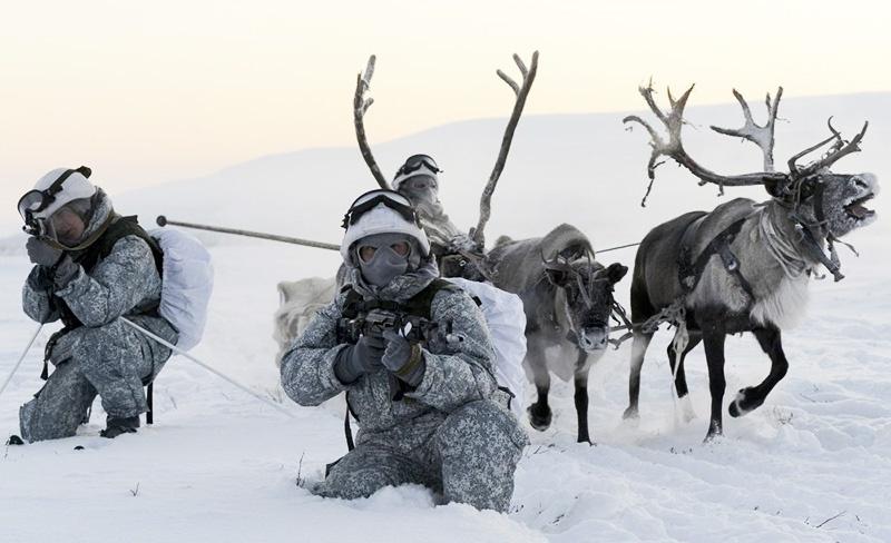 Арктическая версия боевой экипировки.