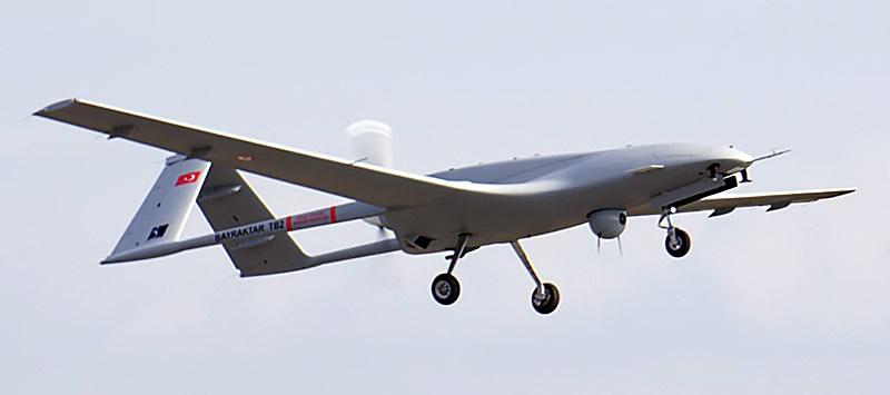 Ударный дрон Bayraktar TB2.