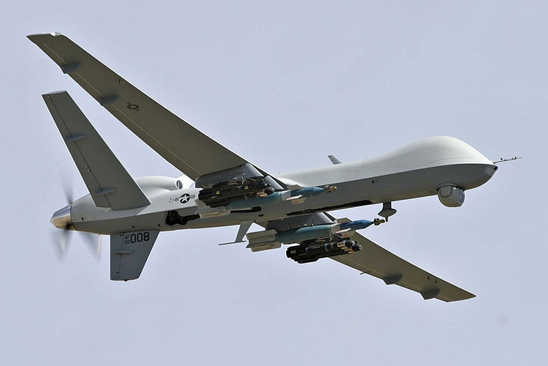 Многоцелевой беспилотник MQ-9 Reaper.