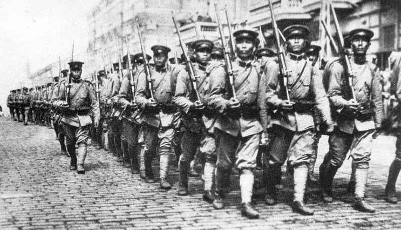 Японцы из Вдадивостока ушли сами.