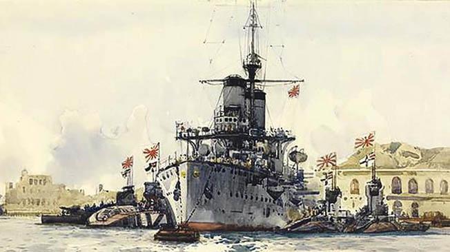 За пятнадцать лет Япония создала современную армию и флот.