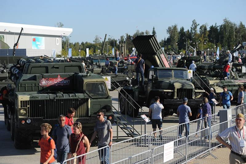 Свою технику на «Армии-2019» покажут все виды и рода войск Вооружённых сил России.
