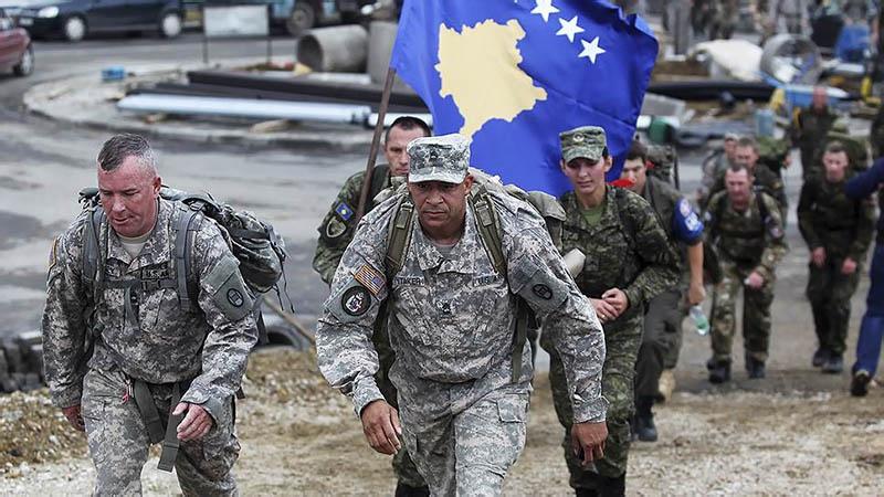 Армия США и Армия освобождения Косово действовали в одних боевых порядках..