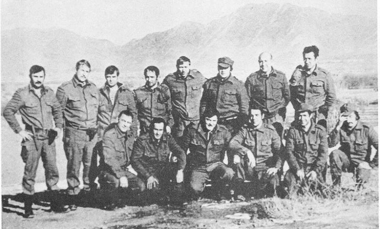 Группа «Альфа» перед штурмом дворца Амина. Афганистан 1979г.