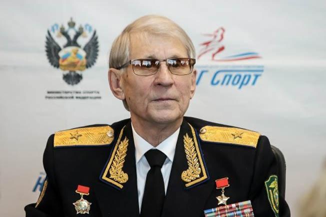 Первый командир Группы «А» Герой Советского Союза Виталий Дмитриевич Бубенин.