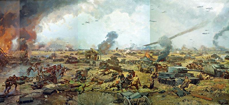 Панорама «Прохоровская битва».