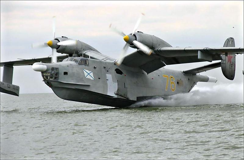 Самолёты-амфибии Бе-12 служат Морской авиации уже более полувека.