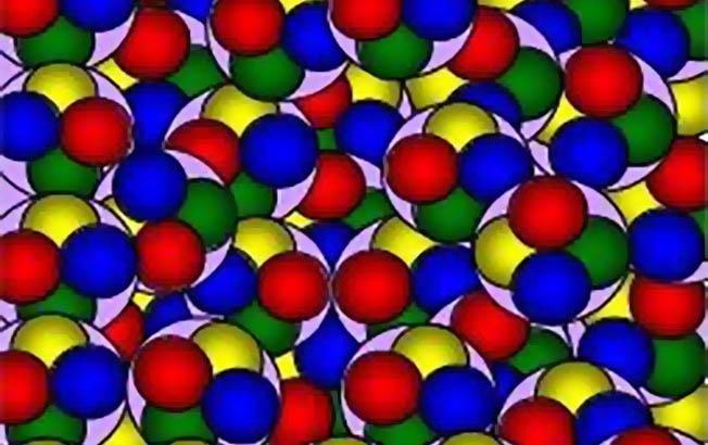 Квантованная структура космического вакуума.