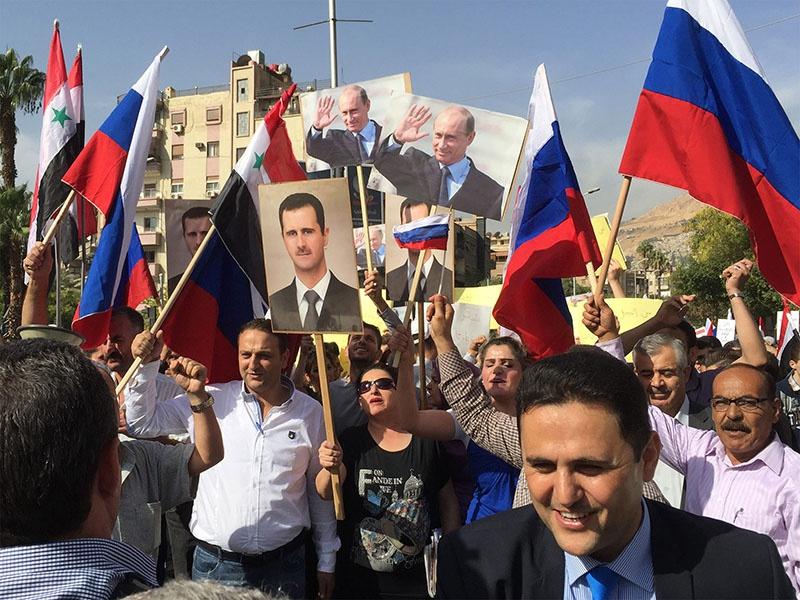 Усиление авторитета России на Ближнем и Среднем Востоке не привело к повышению её влияния на постсоветском пространстве.
