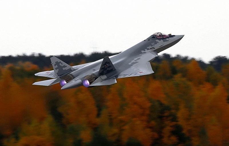 В мае 2019-го было запущено серийное производство истребителя Су-57.