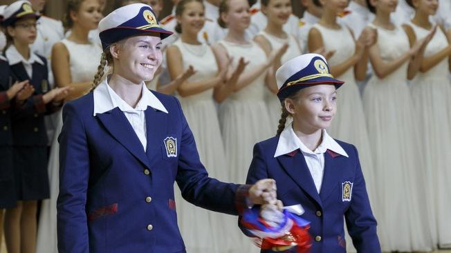 Пансион воспитанниц Министерства обороны в Санкт-Петербурге.