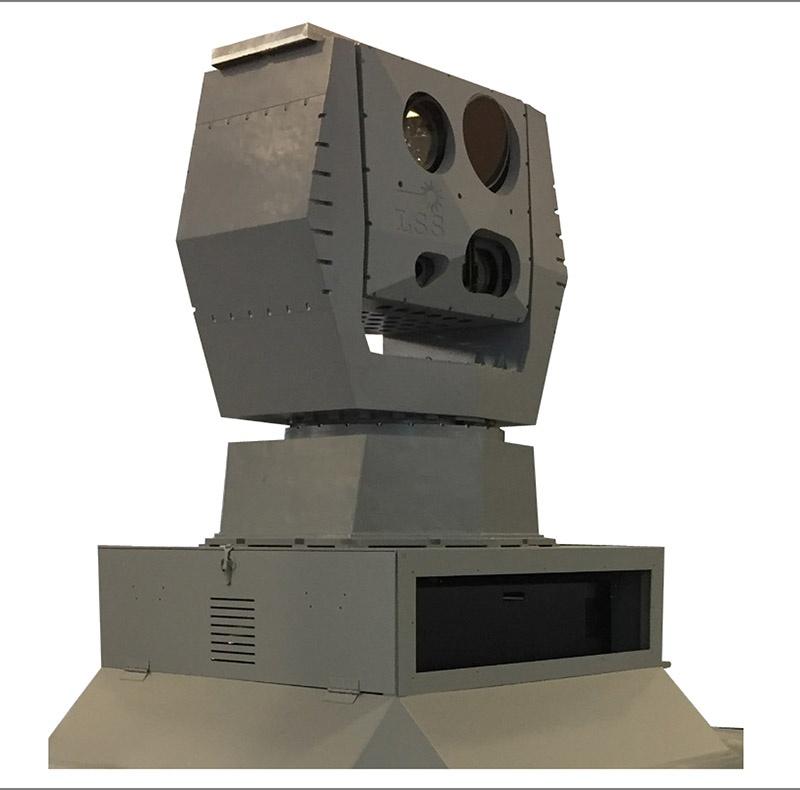 Экспериментальный боевой лазер Aselsan.