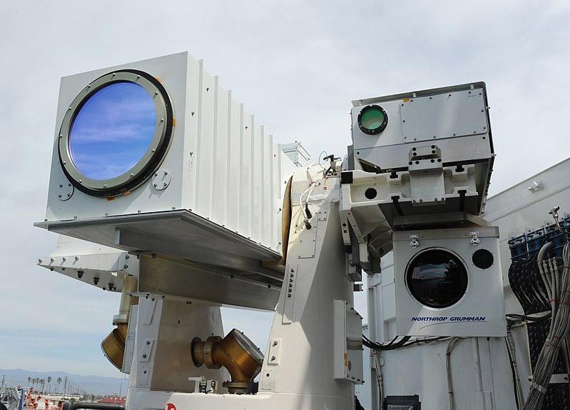 Модульная корабельная установка MLD (Maritime Laser Demonstration), разрабатываемая альянсом корпораций Boeing, Locheed и Northrop Grumman.