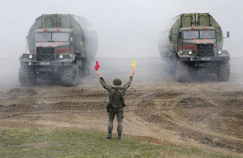 Основные действия войск прошли на российских полигонах и полигонах государств-партнёров.