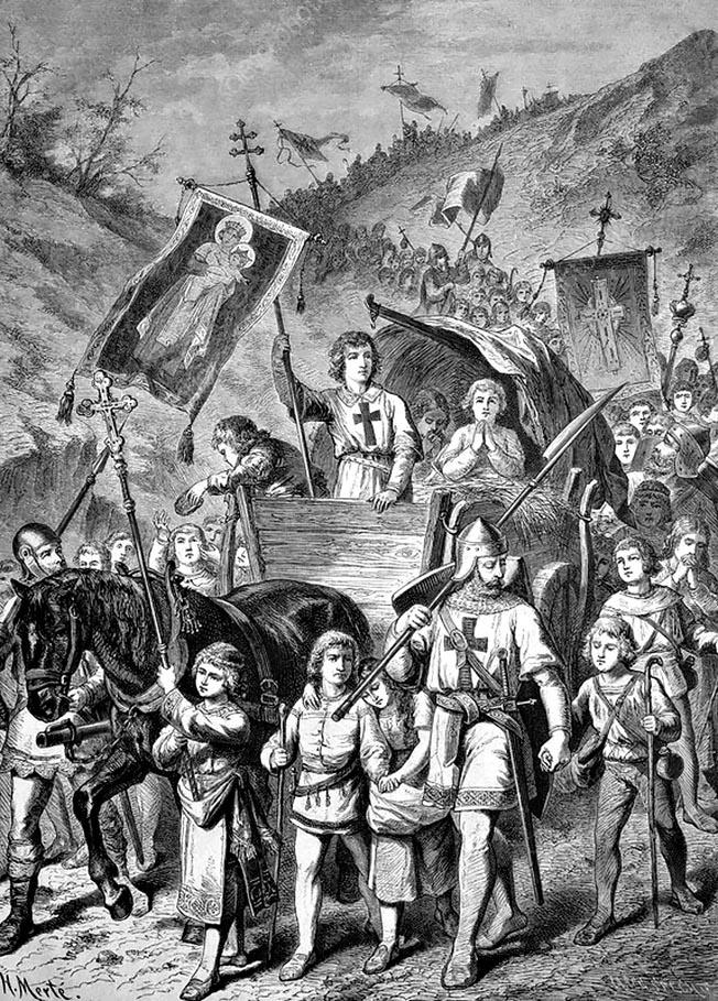 Детский крестовый поход 1212 года.