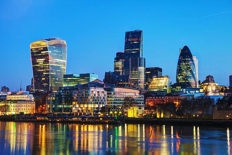 Лондонское Сити - финансовая столица мира.