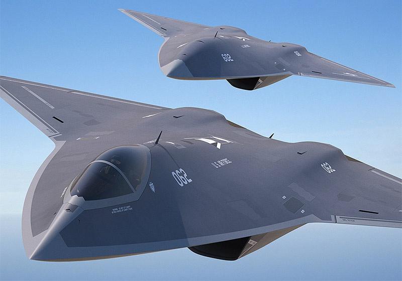 Концепт истребителя F-X.