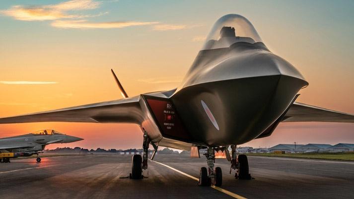 Великобритания рассчитывает создать собственный истребитель шестого поколения Tempest.