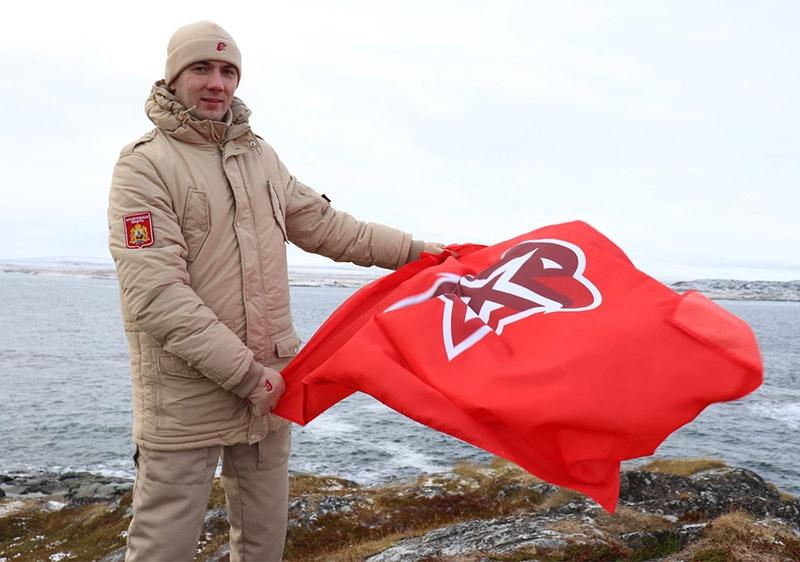 Начальник штаба регионального отделения ВВПОД «ЮНАРМИЯ» Сергей Тагаев в Архангельской области.