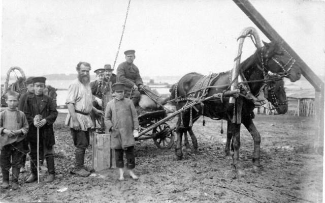В начале ХХ в. почти треть сельских хозяйств имела по сути сельско-пролетарский характер.