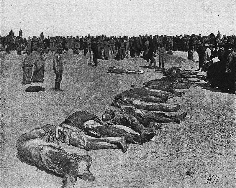 Жертвы массовых казней в Евпатории.