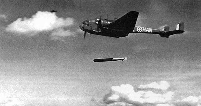 Торпедоносец «Хемпден» XA-B.