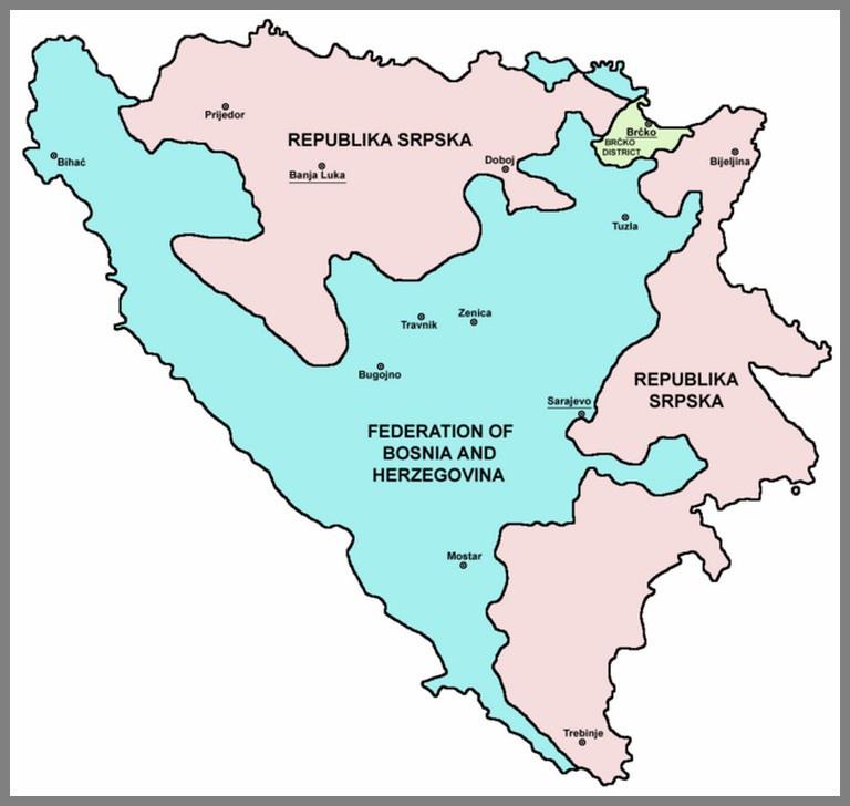 Проблемой для НАТО является вторая составная часть БиГ - Республика Сербская.