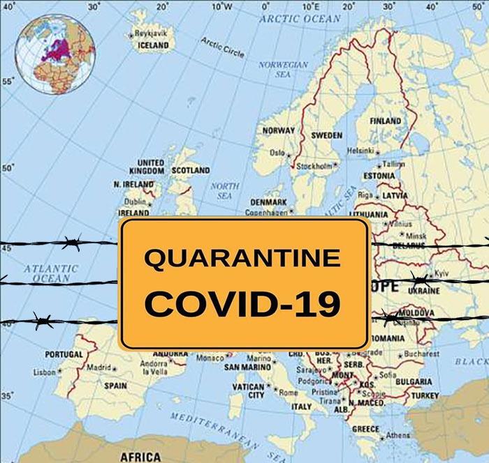 Каждая европейская страна в одиночку боролась с коронавирусной заразой.
