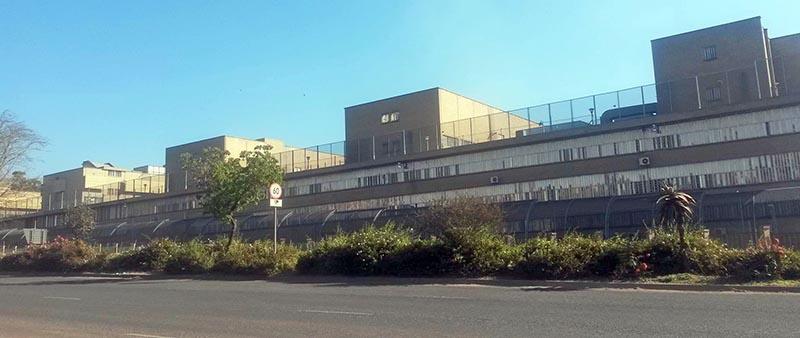 Центральная тюрьма в Претории.