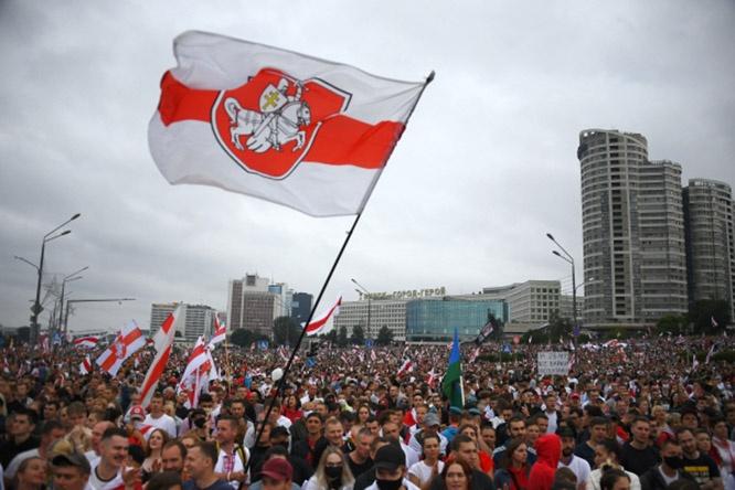 Митинг 23 августа в Минске.