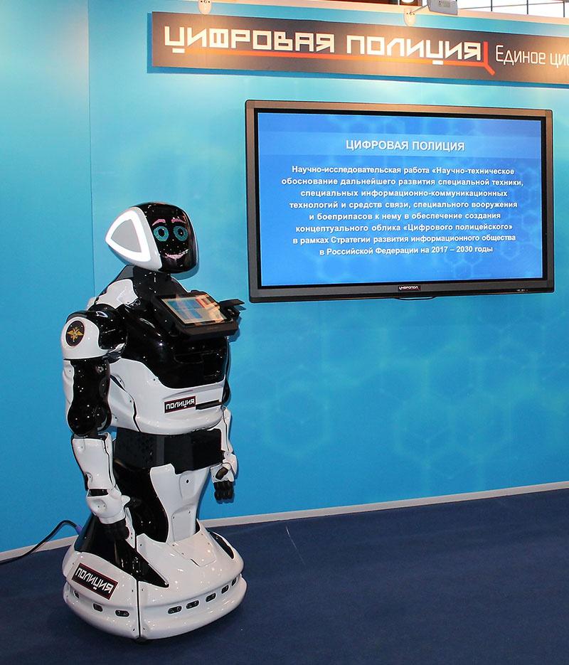 Компания PROMOBOT из Перми сконструировала специально для японцев робота-полицейского.